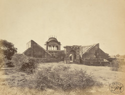 Indian house converted into a bungalow, Behut, near Gwalior